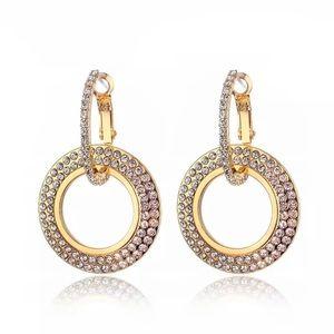 Jewelry - Crystal Circle Earrings